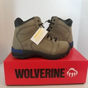NWT Wolverine Edge CSA 6 inch Safety Boots Size 8